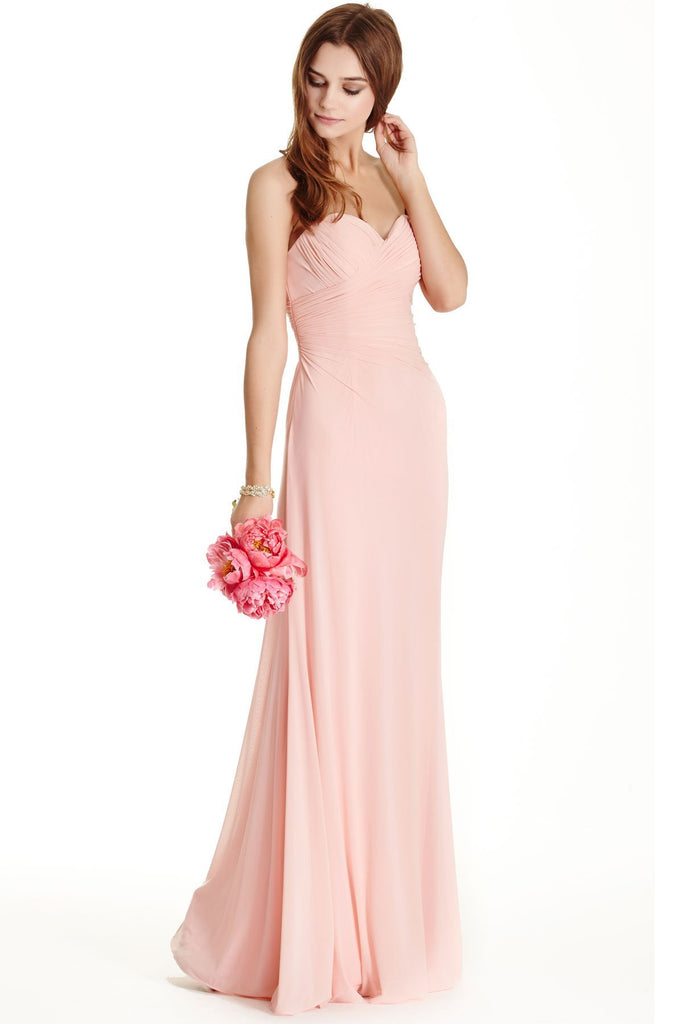 Strapless Bridesmaid Dress APL1693-Bridesmaid Dresses | Cheap Bridesmaid Dresses-smcfashion.com