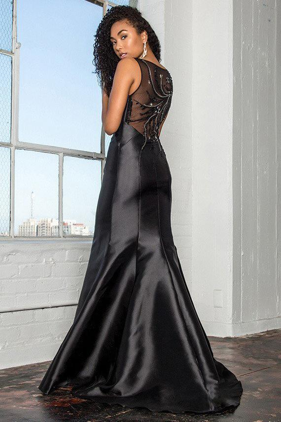 Solid Color Evening Gowns 2019 GSGL2212-Sale-smcfashion.com