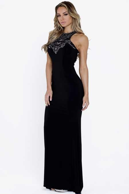 Long Modest Evening Gowns AC829-Evening Dresses-smcfashion.com
