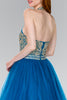 Jeweled Hatler Neckline Homecoming Short Dress GSGS2382