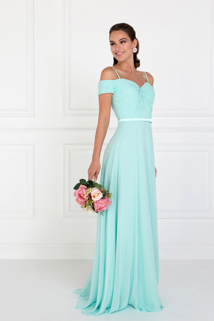 Off Shoulder Sweetheart Neck Prom Dress GSGL1523