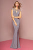 Illusion Sweetheart Neckline Long Prom Dress GSGL2058