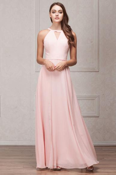 Long Different Bridesmaid Dresses with Halter Neck AC826-Bridesmaid Dresses | Cheap Bridesmaid Dresses-smcfashion.com