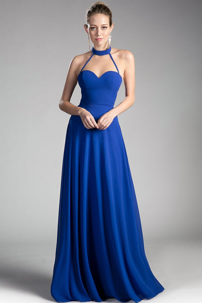 Elegant Floor Length Gowns With Open Back CDCF291-Evening Dresses-smcfashion.com
