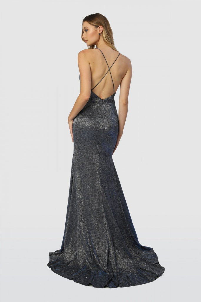 Deep V-Neck Super Sexy Long Prom Dress Mermaid Shape NXC238