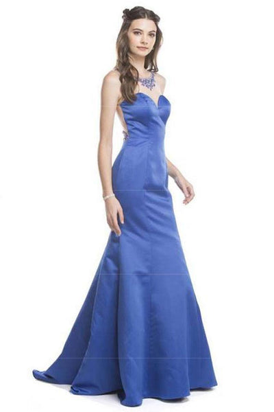 Beautiful Trumpet Formal Prom Gowns APL1538 - smcfashion.com