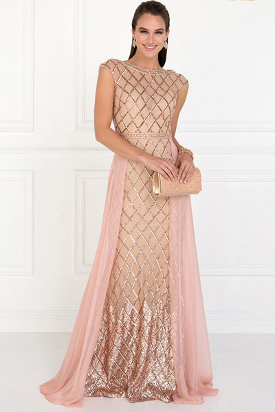 Elegant A-line Long Evening Dresses 2019 GSGL1577-Long Dresses-smcfashion.com