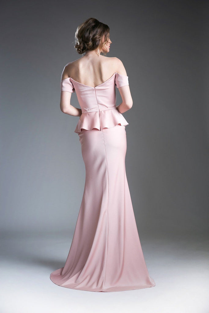 Sweetheart Off-Shoulder Cute Long Evening Dress CDCF134