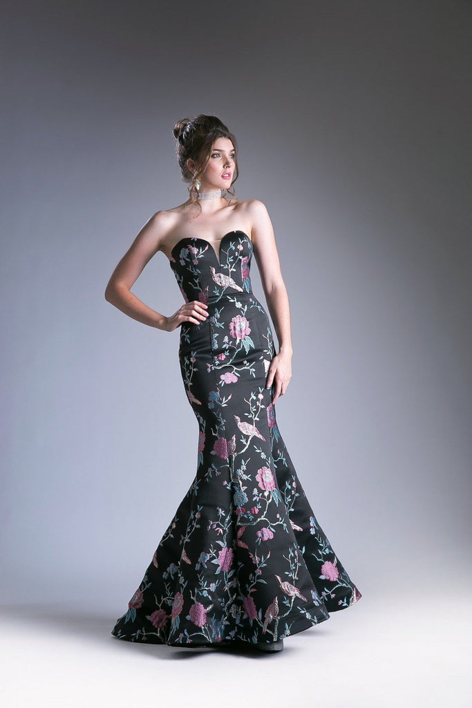 Celebrity Wholesale Evening Mermaid Gown Dress CDCJ240-Evening Dresses | Smcfashion.com-smcfashion.com