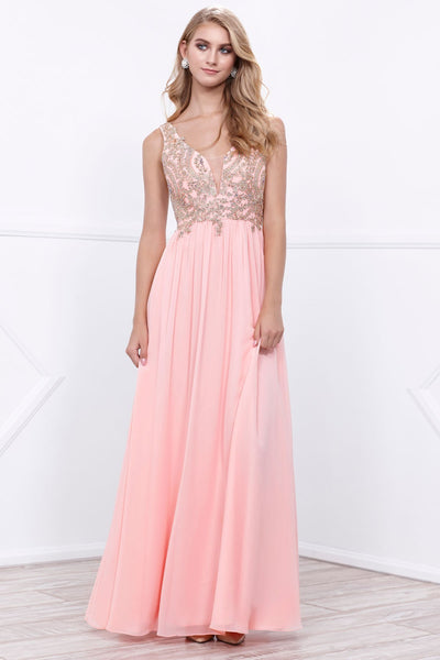 Sleeveless Celebrity Prom Dresses NX8343 - smcfashion.com