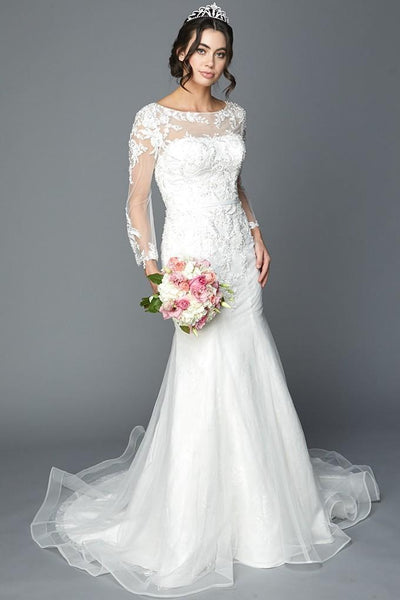 Beautiful Wedding Outfits JT366W-Wedding Dresses-smcfashion.com