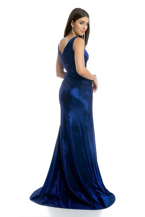 Bateau Neckline Sleeveless Long Prom Dress JT218