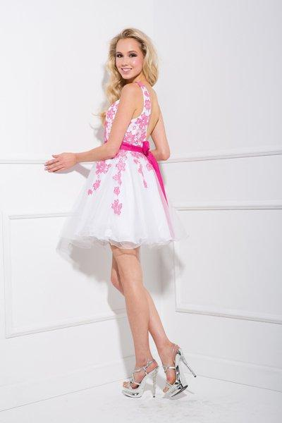 Cheap Short Floral Prom and Evening Dress NX2671