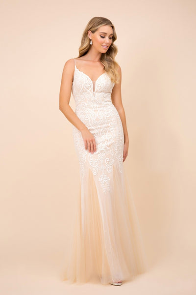 Sweetheart Neck Lace Mermaid Prom Dress NXW903
