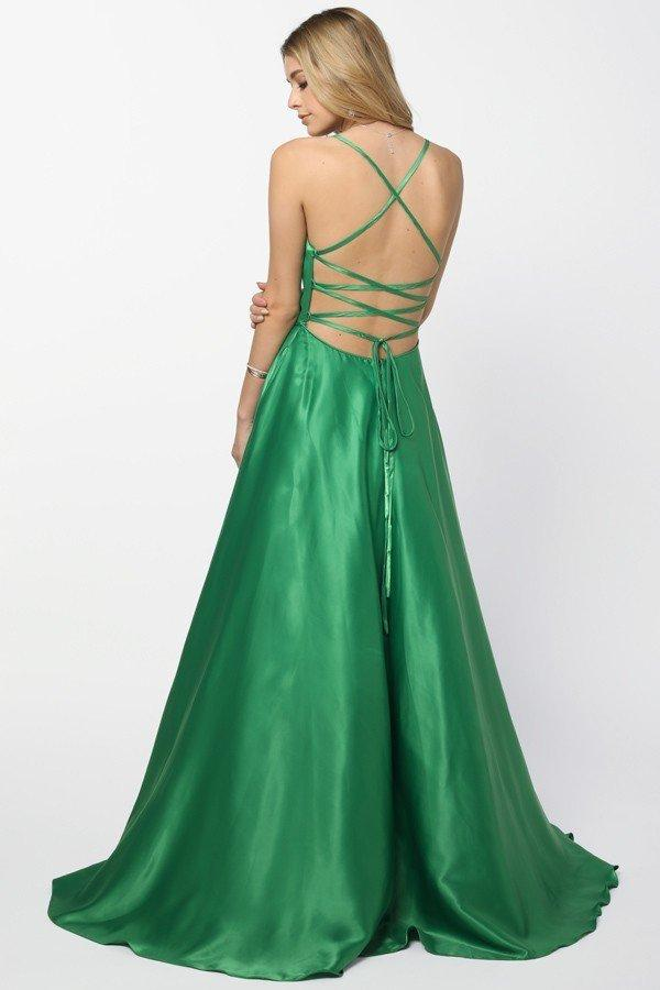 Sweetheart Neckline Sleeveless A-Line Long Evening Dress NXM140