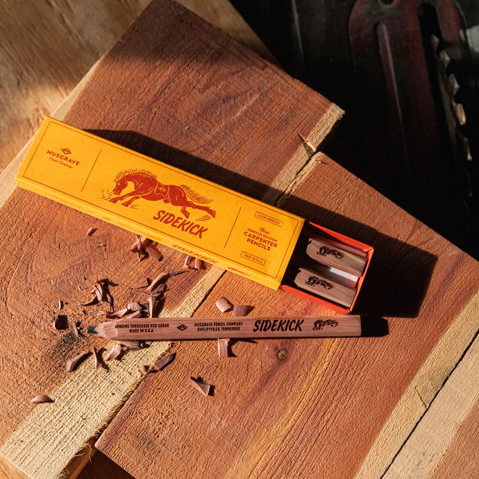 The Sidekick - A Tennessee Red Cedar Carpenter Pencil