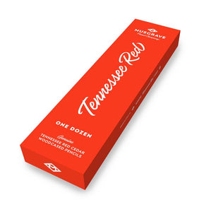 Tennessee Red Pencil | 12-pack #2 Wood-cased Hexagonal Cedar Pencil | Musgrave Pencil Company