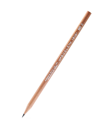BUGLE 1816 | #2 WOOD-CASED ROUND PENCIL | MUSGRAVE PENCIL COMPANY