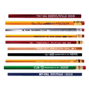 Musgrave Pencil Variety Pack | Jumbo, Hex, Round Wood-cased Pencils | Musgrave Pencil Company
