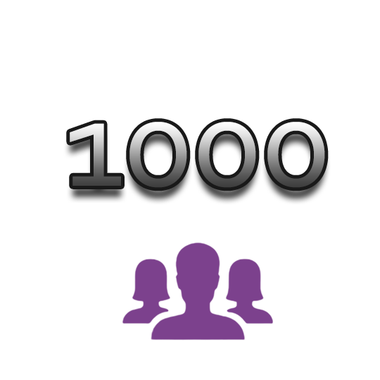 1000 Instagram Followers