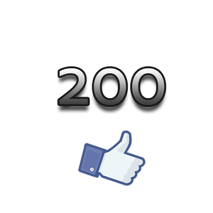200 Facebook Page Likes