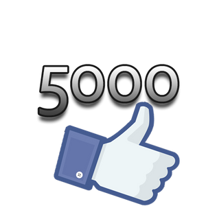 5000 Facebook Page Likes