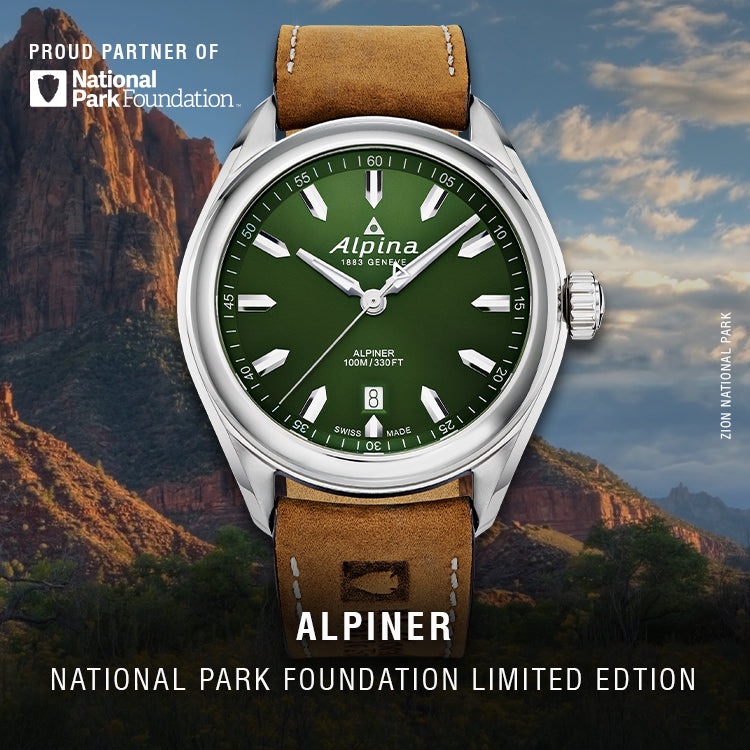 Alpiner National Park Foundation Limited Edition Watch