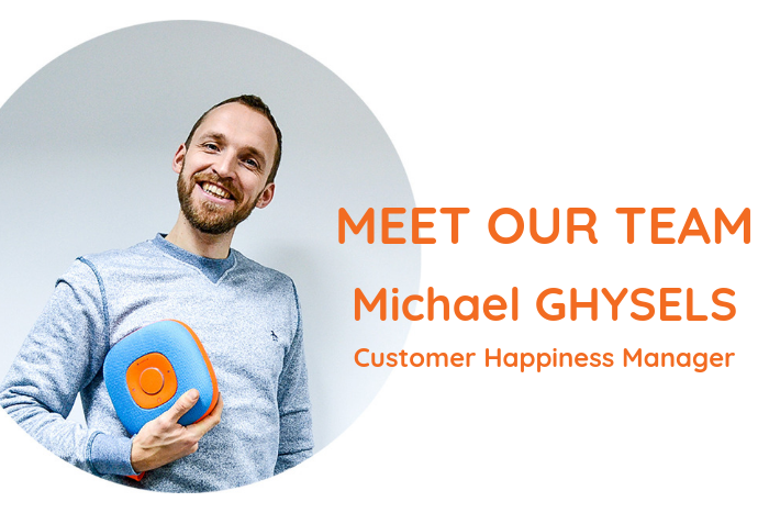 Meet the team - Michael, Customer Happiness Manager