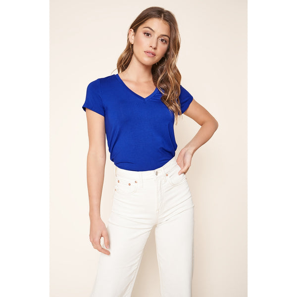 Favorite V-Neck Basic Tee