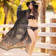 Floral Printed Women Bikini Cover Up