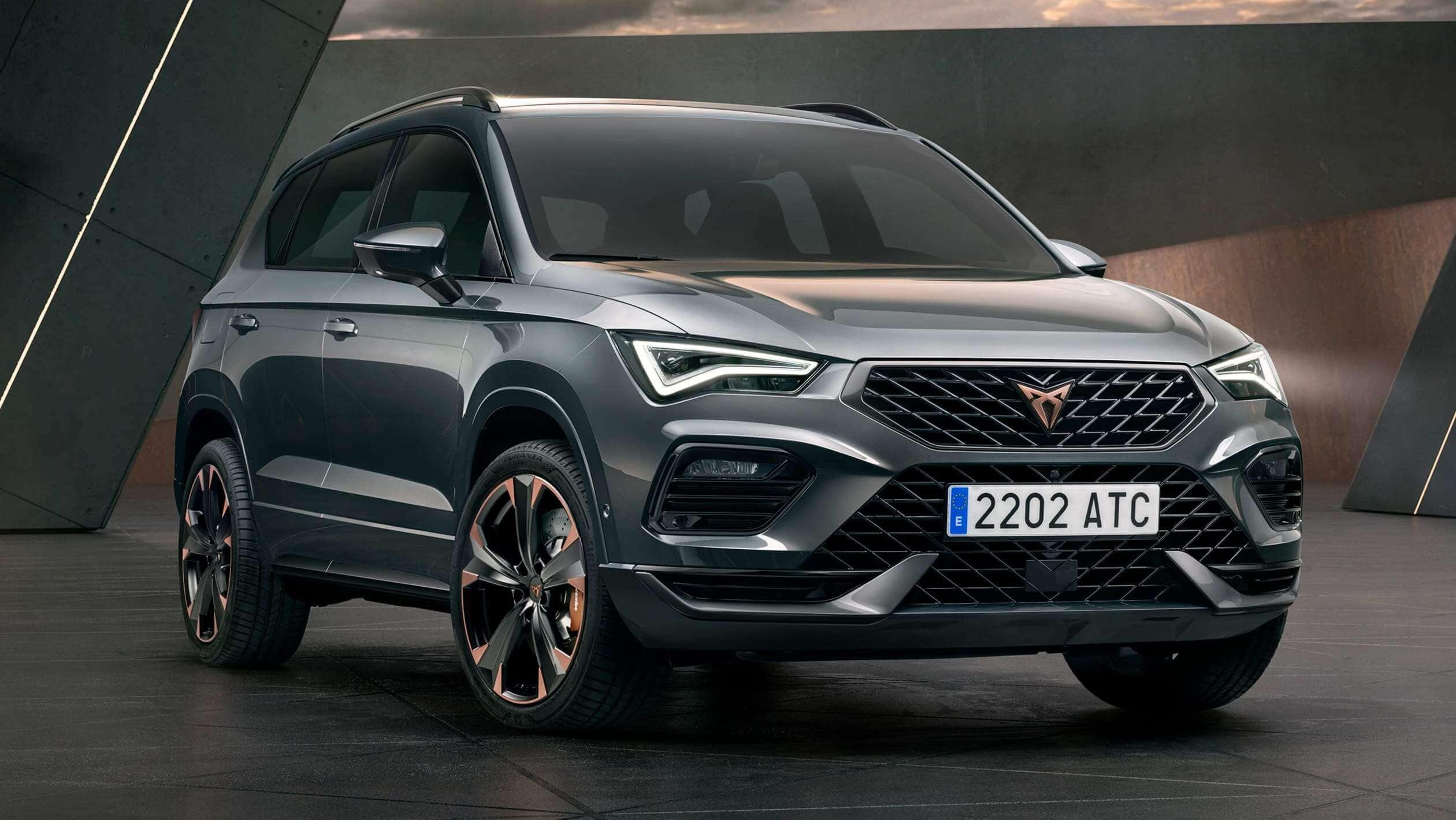 New 2020 Cupra Ateca facelift revealed with more tech