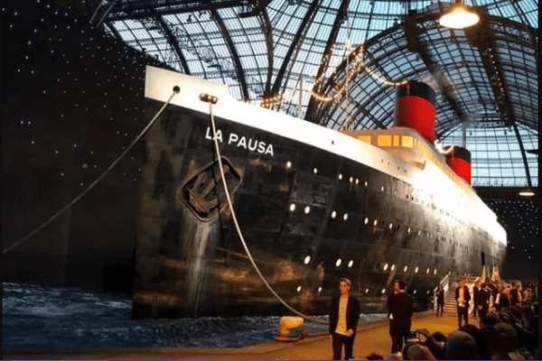 Chanel's 2019 cruise show aboard a giant ship