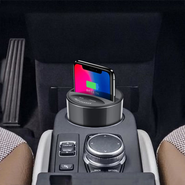 Car cup 2-in-1 Wireless Charger