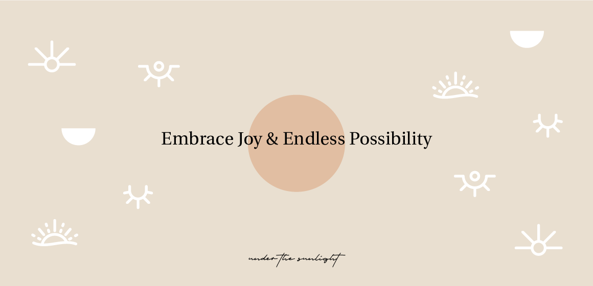 Embrace joy and possibility with Under the Sunlight stationery products