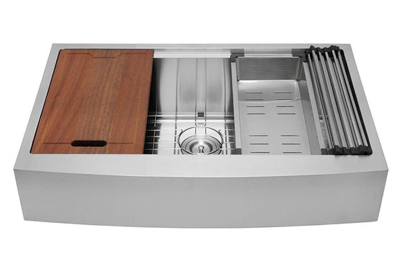 Stainless Ledge Bowl Sinks with Accessory Kits are in Stock!