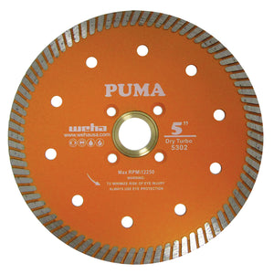 "Weha 5"" Puma Quad Diamond Turbo Blade"