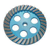 "6"" Spiral Segmented Cup Wheel - Coarse"