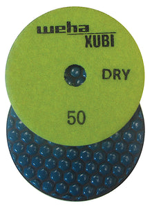 "Weha 4"" Xubi Dry Diamond Polishing Pad"