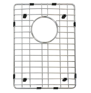 "Grid for 32"" Premium Handmade Culinary, Stainless Steel, 60-40 Double Bowl Kitchen Sink, BGHU-40-3218"