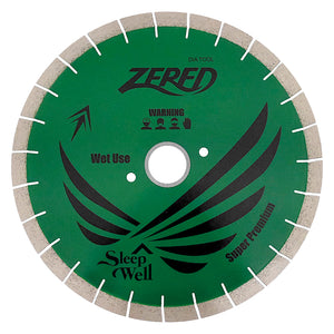 "Zered 14"" Silent Diamond Bridge Saw Blade - 20mm"