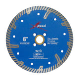 "Xpeed 6"" Premium Turbo Blade - Blue"