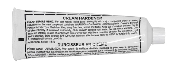 Hardener Cream - White - 4 oz