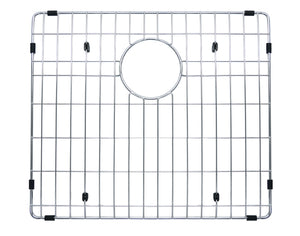 "Grid for 32"" Premium Handmade Culinary, Stainless Steel,  60-40 Offset Double Bowl Kitchen Sink, BGHU-60os-33x20/18x10"