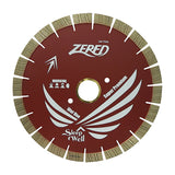 "Zered 14"" Honey Comb Segment Bridge Saw Blade - 22mm"