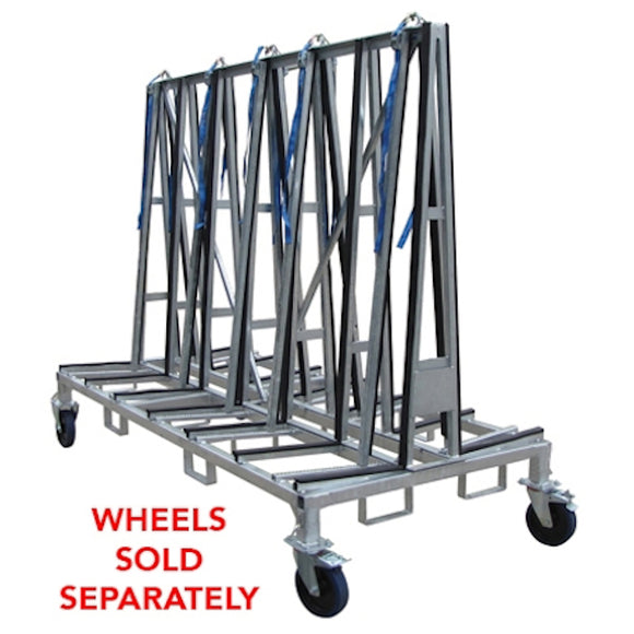 Weha Large Double Sided A frame Transport Cart - 96