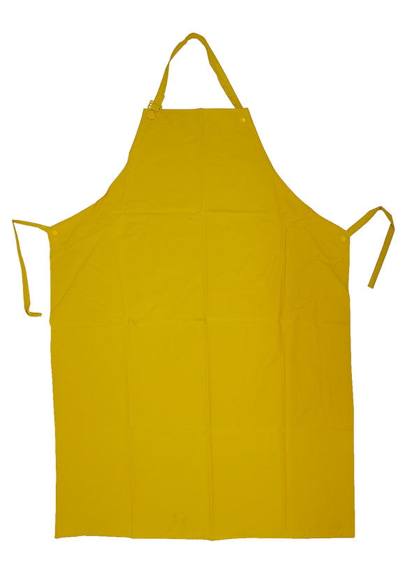 Apron Water Resistant Vinyl - Yellow