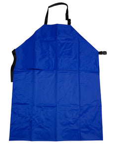 Extra-Long Waterproof Double Layer Apron - Blue