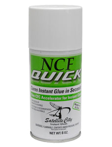 Satellite City QA-6 NCF Quick Aerosol Accelerator 6 oz
