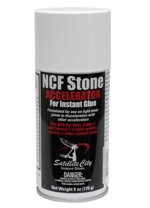 Satellite City NCF Stone CA glue Accelerator for Natural stone - 6oz