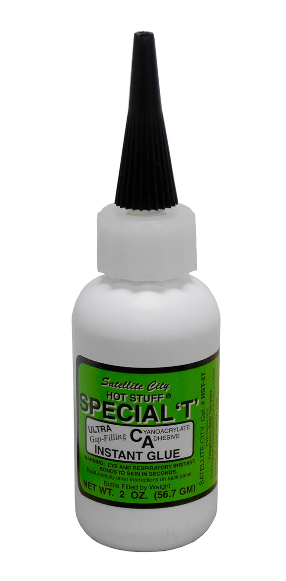 Satellite City Hot Stuff Special T Thick Instant CA Glue, HST-4T - 2oz